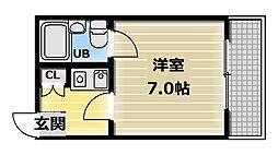 EIWAサンライズマンション[4階]の間取り