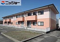 コーポファミールA棟[1階]の外観