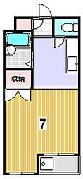 グランドールトキ[303号室]の間取り