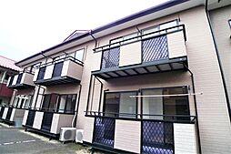 栃木県日光市土沢の賃貸アパートの外観