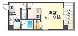 SK尼崎東[4階]の間取り