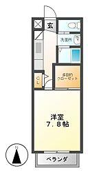 MIYAVI A・B棟[2階]の間取り