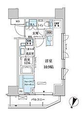 パークアクシス赤坂見附[8階]の間取り