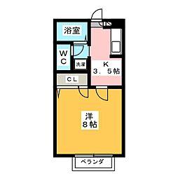 パル台原[2階]の間取り