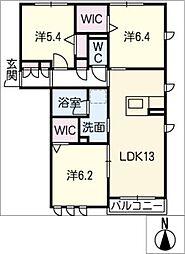 仮)プロヌーブ東春田[2階]の間取り