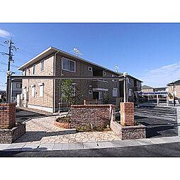 奈良県奈良市四条大路の賃貸アパートの外観