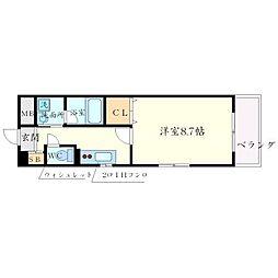 プレセンテ[2階]の間取り