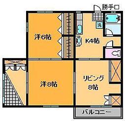 増田マンション[1階]の間取り