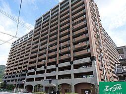 滋賀県大津市皇子が丘2丁目の賃貸マンションの外観