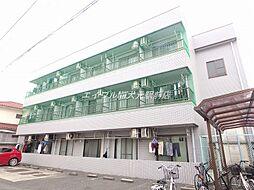 岡山県岡山市北区学南町2の賃貸マンションの外観
