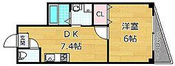 M'PLAZA津田駅前弐番館[1階]の間取り