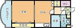 リファレンス小倉[7階]の間取り