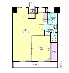 安藤マンション 8階[8階]の間取り