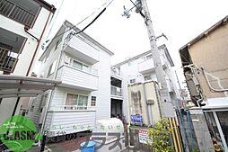 大阪府東大阪市下六万寺町3丁目の賃貸アパートの外観