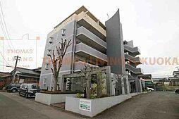 福岡県小郡市三沢の賃貸マンションの外観