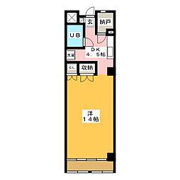 緑園第3サンコーポ[2階]の間取り