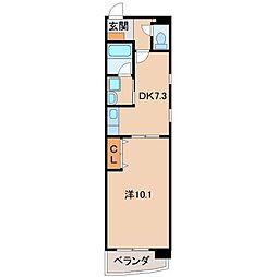 Ritz Carlton[4階]の間取り