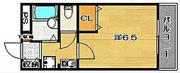 プロニティ21[2階]の間取り