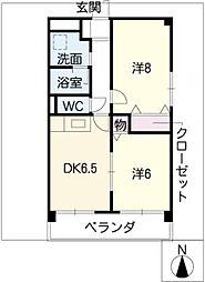 VIVACE SUZUKA[2階]の間取り