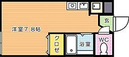 仮)LEGEND181 A棟(レジェンド181)[2階]の間取り