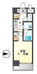 コンフォート(Comfort)新栄[2階]の間取り