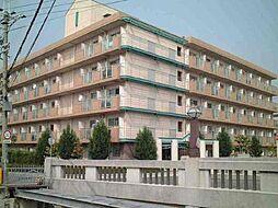 兵庫県西宮市津門川町の賃貸マンションの外観