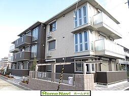 大阪府羽曳野市軽里1丁目の賃貸アパートの外観