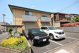 愛知県名古屋市中川区上高畑2の賃貸アパートの外観
