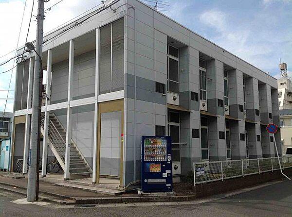 レオパレスホワイトウイングI[2階]の外観