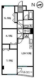 エポック新横浜[506号室]の間取り