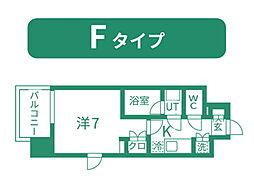 仙台市営南北線 北四番丁駅 徒歩11分の賃貸マンション 9階1Kの間取り