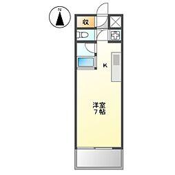 CRETACEOUS PARK IV[3階]の間取り