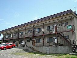 北海道札幌市豊平区西岡三条11丁目の賃貸アパートの外観