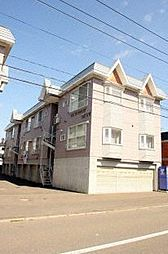 北海道札幌市東区北三十五条東5丁目の賃貸アパートの外観