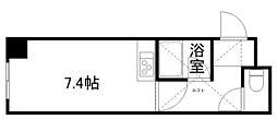 北海道札幌市南区真駒内本町6丁目の賃貸マンションの間取り
