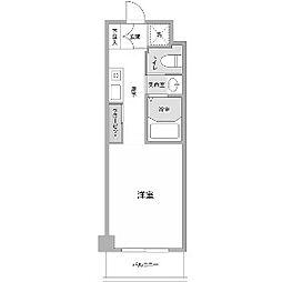 ぺルナ新百合[3階]の間取り