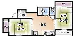 川島第4ビル[3階]の間取り
