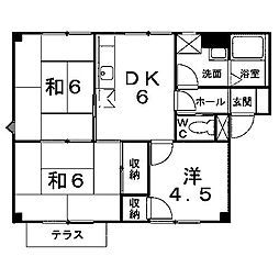 ヴィクトリアガーデン3[2階]の間取り