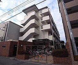 京都府京都市右京区西院安塚町の賃貸マンションの外観