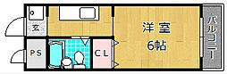 チェリー茄子作[2階]の間取り