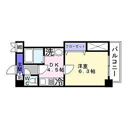 ノウムローザ[2階]の間取り