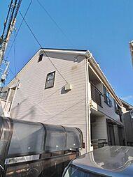 埼玉県志木市本町1丁目の賃貸アパートの外観
