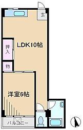 駒込ハイツ[3階]の間取り