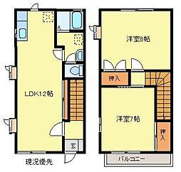 [テラスハウス] 埼玉県さいたま市緑区原山1丁目 の賃貸【/】の間取り