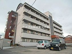 岡山県倉敷市下庄の賃貸マンションの外観