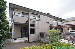 兵庫県川西市平野1丁目の賃貸アパートの外観