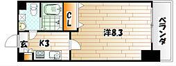 No.71 オリエントトラストタワー[28階]の間取り