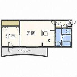 北海道札幌市北区麻生町3丁目の賃貸マンションの間取り
