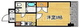 おおきに出町柳サニーアパートメント (旧:S-CREA出町柳)[404号室号室]の間取り