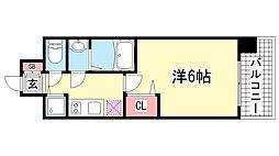 lala place神戸西元町[8階]の間取り